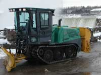 Snow plow and spreader