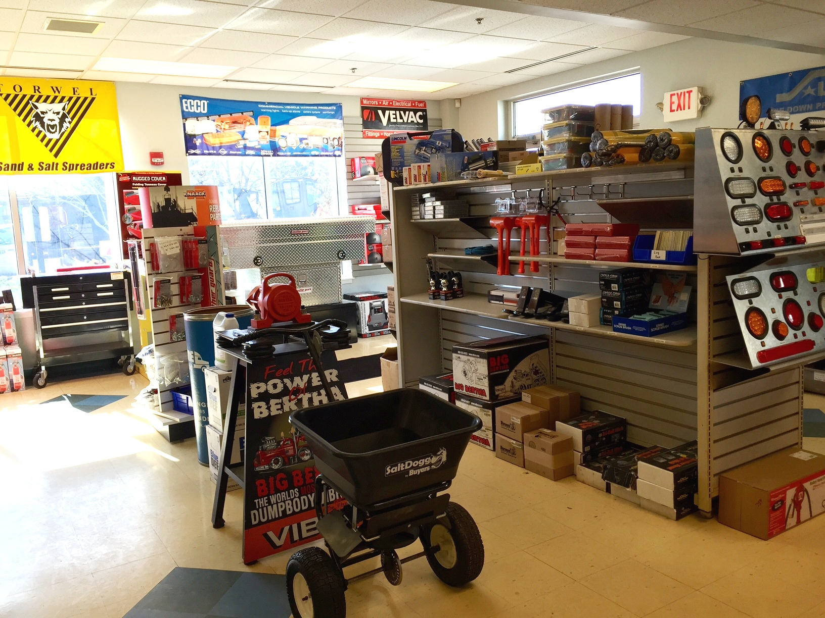Donovan Equipment Parts Department