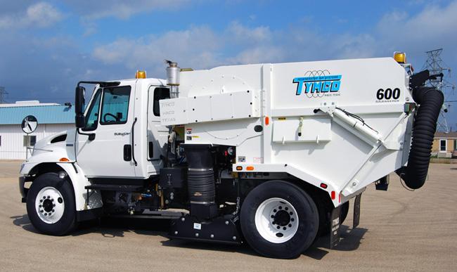 Tymco Regenerative Air Sweeper Model 600