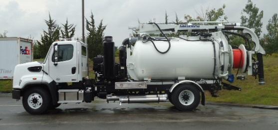 Aquatech Jet Vac Truck