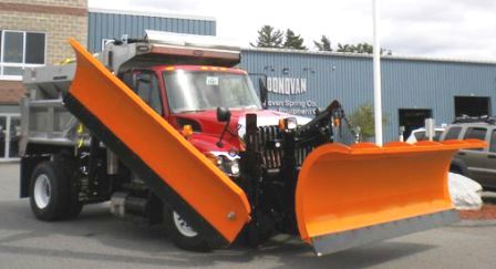 Monroe snow plow and wing