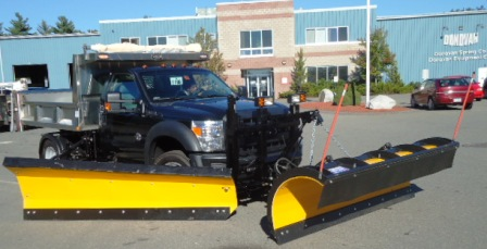 Valk snow plow and wing