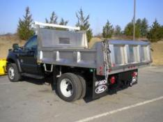 Iroquois stainless steel dump body