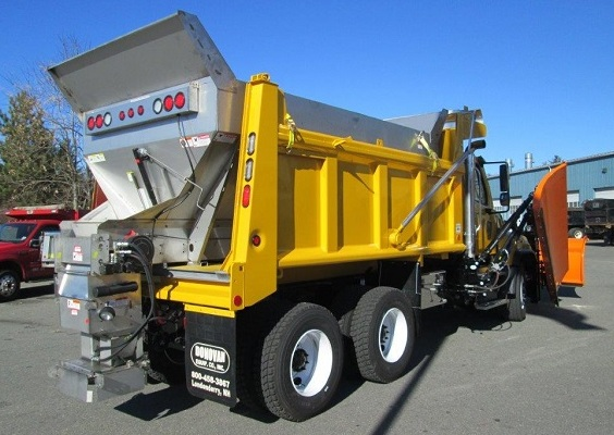 Brandon dump body with Torwel Sander