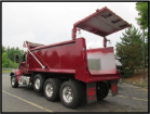 Brandon dump bodies high lift gate