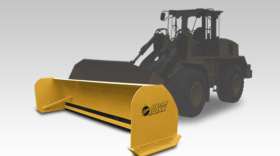 Fisher Storm Boxx Pusher plow